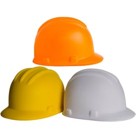 "Hard Hat Stress Ball (2.5"" x 3.5"")"