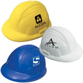 Hard Hat Stress Ball (Economy)