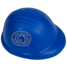 Branded Safety Hard Hat Stress Reliever