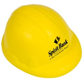 Company Custom Hard Hat Stress Reliever