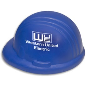 Hard Hat Shaped Stress Reliever for Your Organization