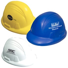 Hard Hat Shaped Stress Reliever