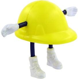 Company Hard Hat Man Stress Toy