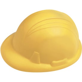 Branded Hard Hat Stressball