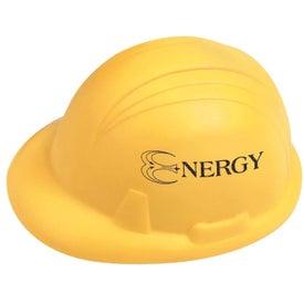Personalized Hard Hat Stressball