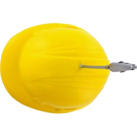 Imprinted Hard Hat Stress Ball Memo Holder