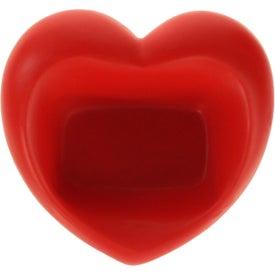 Custom Valentine Heart Cell Phone Holder Stress Ball