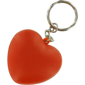 Heart Key Ring Stress Reliever