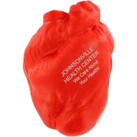 Advertising Anatomical Heart Stress Ball