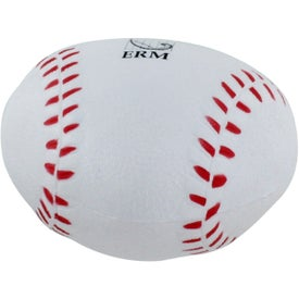 Heart Shaped Baseball Stress Reliever Branded with Your Logo