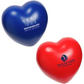 Heart Slo-Release Serenity Stress Balls