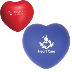 Heart Stress Ball (Reflex Blue and Red)