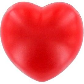 Heart Stress Ball Giveaways