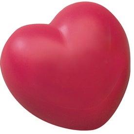 Custom Heart Stress Relievers