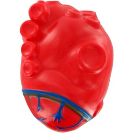 Heart With Vein Stress Toy for Marketing