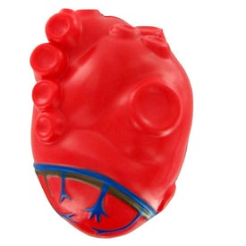 Heart With Vein Stress Toy Giveaways
