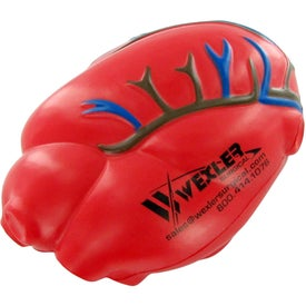 Heart With Vein Stress Toy with Your Logo