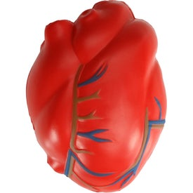Heart With Vein Stress Toy
