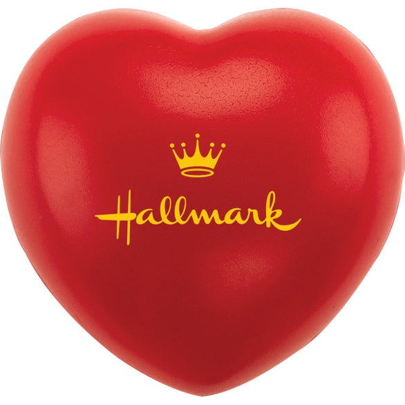 Red Heartbeat Stress Ball
