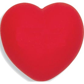 Heart Stress Balls Branded with Your Logo