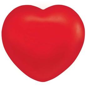 Printed Heart Stressball