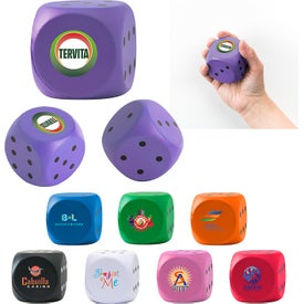 High Roller Dice Stressball