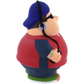 Hip Hop Bert Stress Reliever with Your Logo