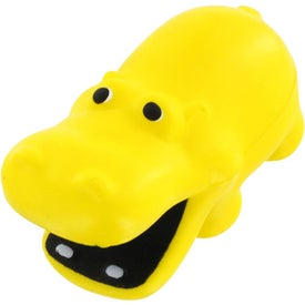 Hippo Stress Reliever Branded with Your Logo