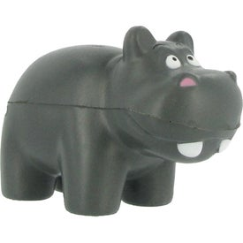 Branded Hippo Stress Ball