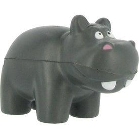 Branded Hippo Stress Ball