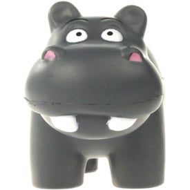 Hippo Stress Ball for Customization