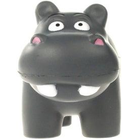Hippo Stress Ball for Customization
