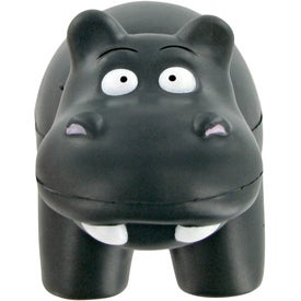 Hippo Stress Toy Printed with Your Logo