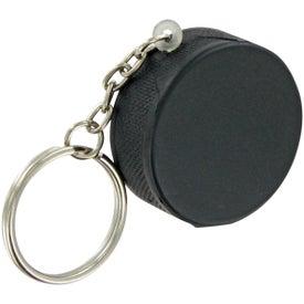 Hockey Puck Keychain Stress Toy