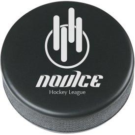 Hockey Puck Shape Stress Reliever
