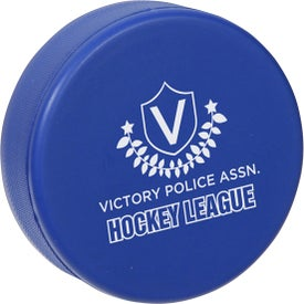 Company Hockey Puck Stress Ball