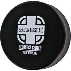 Imprinted Hockey Puck Stress Ball