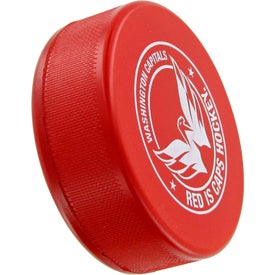 Custom Hockey Puck Stress Toy