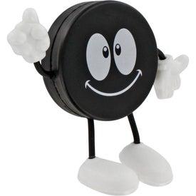 Company Hockey Puck Figure Stress Ball