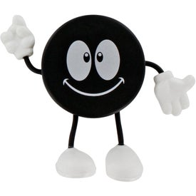 Hockey Puck Figure Stress Ball