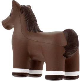 Horse Stress Reliever with Your Slogan