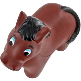 Horse Stress Ball Imprinted with Your Logo