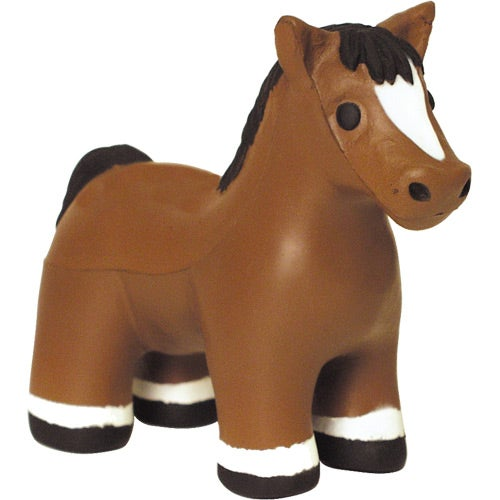Brown Horse Stress Reliever with Sound