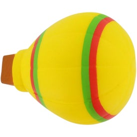 Hot Air Balloon Stress Reliever with Your Slogan