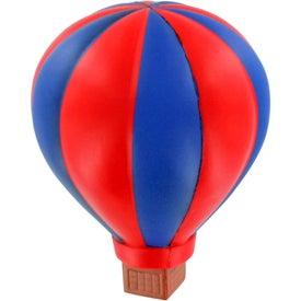 Logo Hot Air Balloon Stress Ball