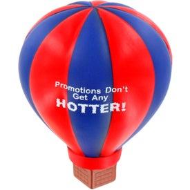 Imprinted Hot Air Balloon Stress Ball