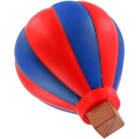 Personalized Hot Air Balloon Stress Ball