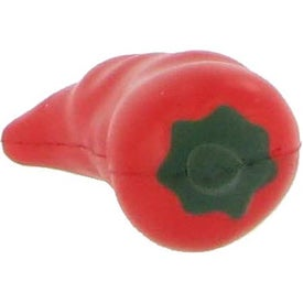 Chili Pepper Stress Ball Imprinted with Your Logo