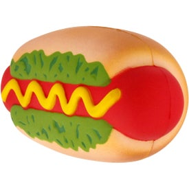 Hot Dog Stress Reliever for Advertising