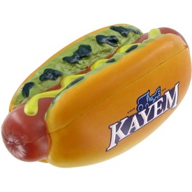 Company Hot Dog Stress Toy